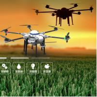 Hexacopter Carbon fiber frame 10kg RC Agricultural Spraying Drone Flying UAV Drone Crop Sprayer On Sale