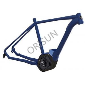 China Aluminum Electric Bike Frame Inner Cable Routing 27.5 Inch Boost Patented Design on sale