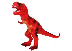 China Simulation Large Dinosaur Soft Toy / Rubber Dinosaur Toys Animal Model on sale