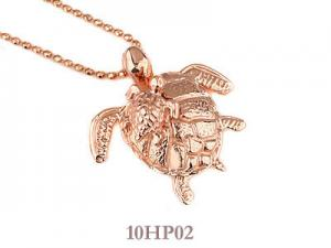 China Rose Gold Sterling Silver Hawaiian Jewelry Cute Sea Turtle Hawaiian Pendant on sale