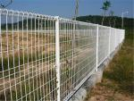 Size Customized Metal Mesh Fencing Double Circle Fence For Highway / Airport
