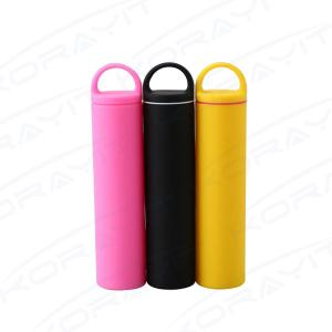 China 2200mAh Silica Gel Ring Portable Power Bank, Wholesale OEM Custom PVC Power Bank on sale