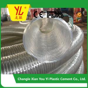 China hot selling steel wire flexible pvc duct hose on sale