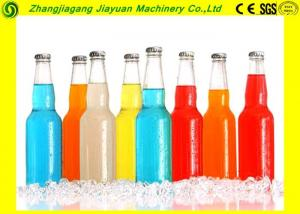 China Soft Drink Bottling Plant / Gas Liquid Glass Bottle Washing Machine on sale