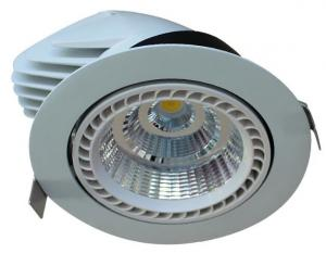 China Aluminum 100lm / W Led Ceiling Downlights , Led Truck Light 40w 50w 15/24/38/60 Beam Angle on sale