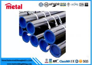 China 16 Inch SCH20 Seamless Steel Pipe Hot Rolled ASME SA213 T2 Blue End For Fluid on sale