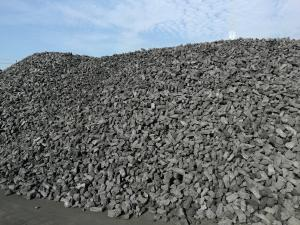 China Ash 12%  Metallurgical Coke Block Type High Carbon Material 30-80mm on sale