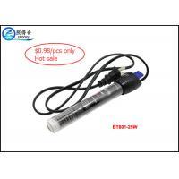China Aquarium Glass Heaters Fish Aquarium Accessories WithThermoregulator 25 Watt on sale