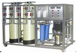 China Electronics Food Industrial  Water purification machines with Reverse Osmosis device on sale