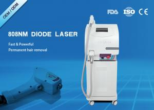 China Pain Free 300W 808nm Diode Laser Hair Removal Machine Micro Cooling System on sale