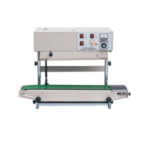 China Plastic bag heat sealing machine FR-900V continuous band sealing machine on sale