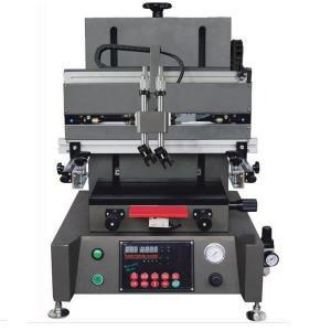 China mini desktop flatbed screen printing machine on sale