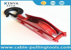 Quality 5T Single Wheel wire rope pulley block , Hoisting Pulley Block With One Side for sale
