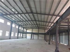 China Prefab Workshop Steel Buildings With Mezzanine Steel Structure Fabrication on sale