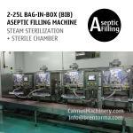 Non-backflow BIB Bag Filler 4-head Bag in Box Aseptic Filling Equipment