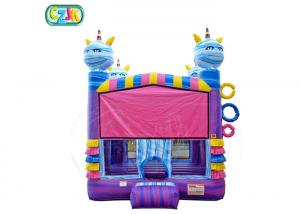 China Professional Colorful  Inflatable Jumping Castle New Design   For Young Children on sale