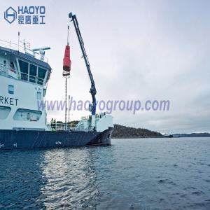 China Small Knuckle Boom Fishing Boat Mini Crane Price for sale Marine Ship Crane on sale