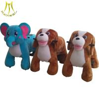 Hansel wholesale electric toy cars  plush toy rider coin animal for kids