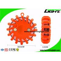 Super Bright Safety Led Warning Light Orange Roadside Emergency Disk
