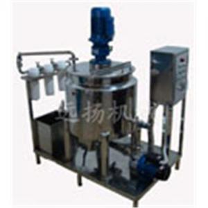 China liquid soap making machine-Type C heating shear emulsification equipment on sale