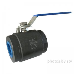 China Two Pieces Forged Stainless Steel Threaded Ball Valve on sale