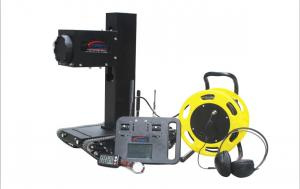 China 600 * 320 * 600mm Bomb Disposal Robot With 15hrs Hearing Device Working Time on sale