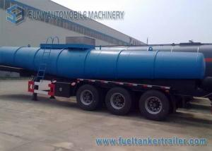 China Concentrated  Sulfuric Acid Tank Trailer 18000 L V Shape Chemical Tanker Trailer on sale