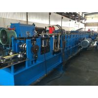 85mm Shaft Dia Rack Roll Forming Machine With Computer Control Cabinet