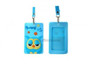 China Owl image creative ID card holder cartoon promotional certificate card holder on sale