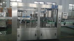 China PET Bottle Carbonated Drink Filling Machine , Soda Water Bottling Plant Equipment on sale