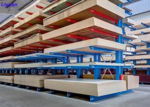China Anti Rust Cantilever Racking System , Cantilever Storage Racks Customized Color on sale