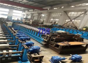 China Automatic High Speed Grain Silo Corrugated Sheet Roll Forming Machine on sale