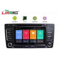 China Skoda Octavia Vw Dvd Player , Vehicle Dvd Player With BT Canbus Rear Camera on sale