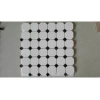 China Natural Stone White Marble Mosaic, Mosaic Veneer,White Marble Mosaic,Marble Mosaic on sale
