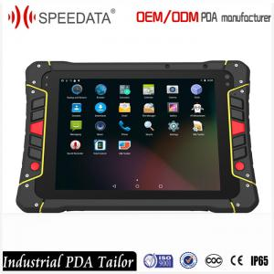 China 8 Inch Data Collection Terminal Android Handheld Rfid Reader Nfc Rugged Tablet Indusctrial Class on sale