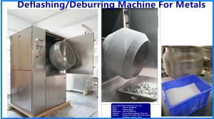 China Case Study:Deflashing/Deburring machine for zinc die-casts,Aluminum-magnesium alloy,NF metal, precision die-casting; on sale