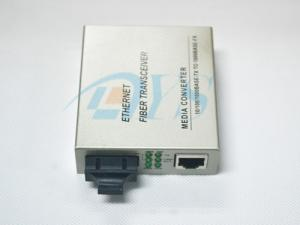 China Multimode Ethernet Fiber Transceiver SC Fiber Optic Media Converter Long Distrance on sale