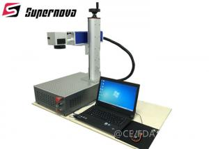 China DMF-20W Portable Laser Marking Machine 7000mm Engraving Speed on sale