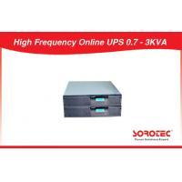 Nominal  Voltage option Rack Mount UPS , High Frequency Online UPS 0.7 - 3KVA