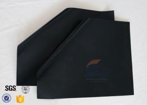 China 15.75x13 BBQ Grill Mat Non Stick FDA Black 0.12MM PTFE Teflon Baking Liner on sale