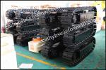 custom built 5 ton steel track undercarriage steel cralwer undercarriage from china factory