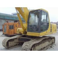 Original Paint Komatsu Heavy Equipment Excavator Second Hand 600mm Shoe Size