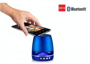 China Multi-function Stereo NFC Bluetooth Speakers With SD Card / Handfree And FM Radio on sale