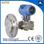 High accuracy Smart Sanitary Differential Pressure Transmitter / Sensor with LCD indicate