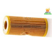 China Seat Leon Audi Oil Filter , VW Beetle Passat Oil Filter Metal Mesh And Non Woven Fabric on sale