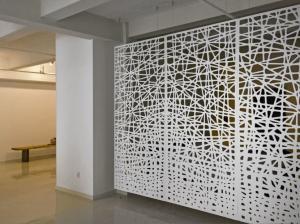 China Powder Coating Aluminum Perforated  Panels Stair  For Railing/Balustrade/Balcony on sale