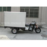 CDI Three Wheel Cargo Motorcycle Trike Closed Box Single Exhaust Air Cooled