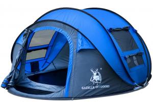 China Instant Automatic Camping Tent , 200x200x120 Cm Waterproof Camping Tents on sale
