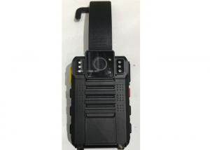 China Black Security Police Video Camera 48 H Continuous Standby For Law Enforcement on sale