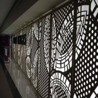 China Decorative Facade Perforated Custom Cnc Parts Aluminum Sheet Metal Panels on sale